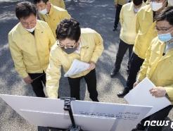 [사진] 조명래 장관, 강원 아프리카돼지열병 대응 현장점검