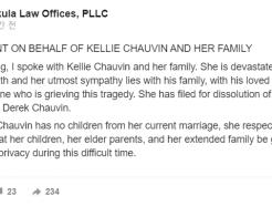 """""""살려달라"""" 흑인 사망케한 美 경찰 아내 '이혼 신청'"""