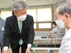 [사진] 박삼득 보훈처장, 대구보훈병원 방문