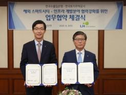 LH-한국수출입은행, 해외 스마트시티 수출 확대 맞손