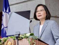 """대만 총통, """"왜 美시위에 침묵하나"""" 질문에…"""