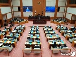 부산시의회, 신상해 의장 등 후반기 의장단 선출