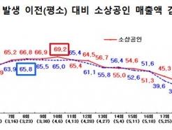 """소상공인 매출감소세 3.7%P이상 회복…""""동행세일 효과"""""""