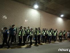 [사진] 박원순 서울시장 '실종 10시간째'