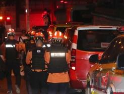 [사진]현장 대기하는 구급대원들