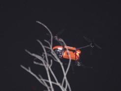 [사진] 드론 동원된 야간수색