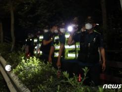 [사진] '박원순 시장 찾기 위한 야간 수색 강화'
