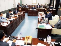 태백시의회, 탄광유산관리사업소 등 4개 부서 업무 점검