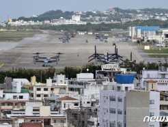 日오키나와 미군기지서 32명 추가 확진…누적 100명 육박