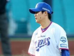 [사진] 삼성 김대우 '팀을 구하라'