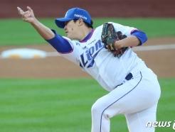 [사진] 삼성 김대우 '위기 탈출'