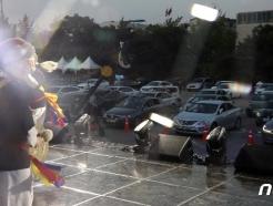 [사진] '고궁 음악회 차안에서 즐기세요'