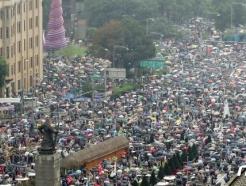 [사진] 보수단체 광화문광장 집회