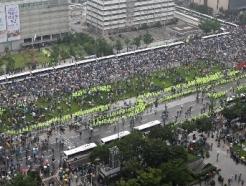 [사진] 광장으로 나온 보수단체