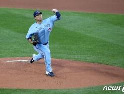 "MLB.com ""류현진, 토론토가 기대했던 에이스 그 모습"""