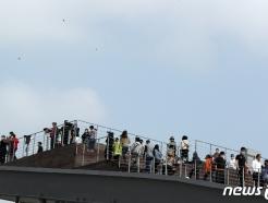 [사진] 추석, 임진각 찾은 시민들