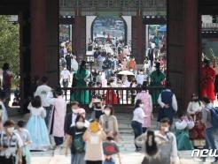 [사진] 추석명절... 많은 시민들의 궁 산책