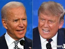 1차 대선토론 후 첫 여론조사 바이든 54% vs 트럼프 41%(상보)
