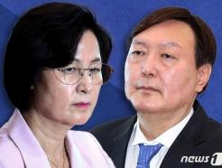 추미애, 윤석열 정조준…'식물총장' 모자라 '피의자' 만드나