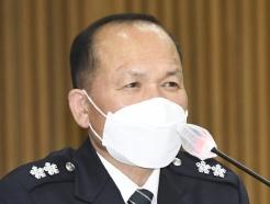 [사진] [국감] 질의에 답변하는 이문수 경기북부지방경찰청장