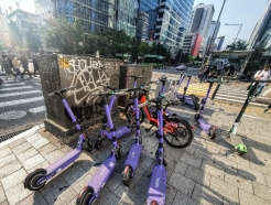 도심 널브러진 '무법 씽씽이'…서울에만 3만6000대 '보행 위협'