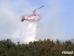 고성 수동면 DMZ 남방한계선 인근 국유림서 산불