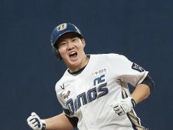 [사진] 박민우,  '2타점 적시타 폭발'