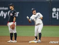 [사진] 박민우 '오늘의 주인공은 나야'