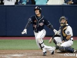 [사진] 1타점 추가하는 두산 김재호
