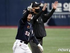 [사진] 두산 김재호 '끝까지 간다'