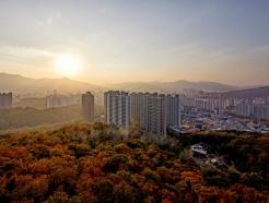 <strong>대림산업</strong>, 'e편한세상 신곡 포레스타뷰' 가을 전경 공개