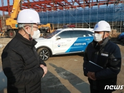 [사진] 불시 패트롤 점검나선 이재갑 장관