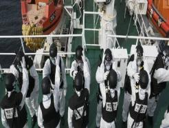 코로나에 물대포도 뚫은 中 불법조업…해경, 방역복 입고 퇴치