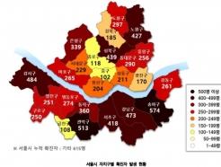 서울 확진자 특성 키워드는?…48.3세·송파,관악·16.6일