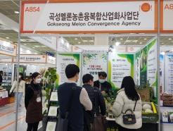 으뜸 곡성 멜론, 서울국제식품산업전서 열띤 홍보