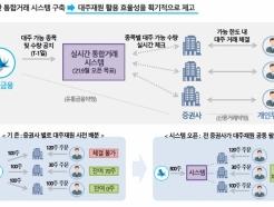 """'한국식 공매도' 밑그림…<strong>증권</strong>금융 """"K-대주시스템 도입"""""""