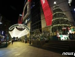 [사진] 코로나19로 휑한 연말의 밤