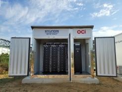 <strong>OCI</strong>, 현대차그룹과 '재사용 전기차 배터리 ESS' 실증 착수