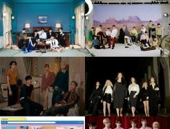 BTS·세븐틴 등 <strong>빅히트</strong> 레이블즈, 연간 앨범차트 톱100에 22개 차트인