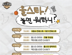 '허재 삼부자 출동' KBL, 15~18일 올스타전 대체행사 준비