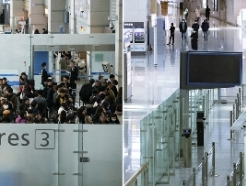 [사진] 코로나19 발병 1년 '지금 인천공항은'