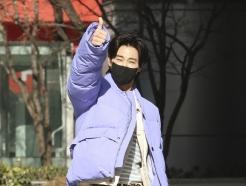 [사진] 유노윤호, 컬투쇼 출근하는 열정 만수르
