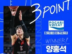 KBL 올스타 이벤트서 3점슛 양홍석, 덩크슛 김영환 팬투표 1위