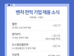 웹젠·마켓컬리 등 '매출 1000억' 알짜기업들 공개채용