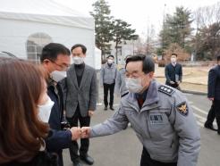 장하연 서울경찰청장, 설 연휴 앞두고 일선 경찰관 격려