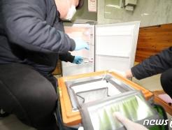 [사진] 요양병원 냉장고 향하는 AZ백신