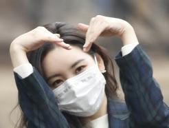 [사진] 선미, 하트 요정