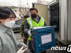 [사진] 아스트라제네카 백신 도착