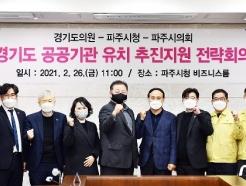 파주시, 道 공공기관 유치 전략회의 개최