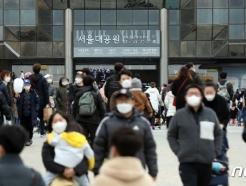 [사진] 마스크 착용하고 봄나들이 즐기는 시민들
